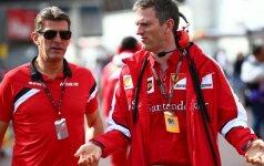 """J. Allisonas išėjo iš """"Ferrari"""" komandos"""