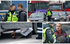 Viešumu su girtais vairuotojais kovojantys pareigūnai išbandė naują būdą