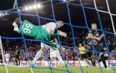 Ž. Karčemarskas apgynė savo vartus, o Ankaros klubas pateko į kitą UEFA Europos lygos etapą