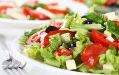 Sočios, imunitetą stiprinančios salotos (receptai)