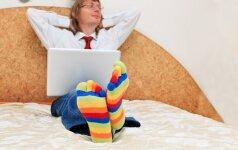 Dirbu namie: namų erdvės pritaikymas darbams