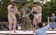 Kodėl japonai stengiasi išgąsdinti ir pravirkdyti kūdikius? APKLAUSA, VIDEO