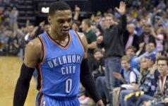 Buvusi NBA žvaigždė apkaltino rusų programišius nuskriaudus R. Westbrooką