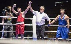Geriausi Lietuvos boksininkai kovos A. Šociko turnyre