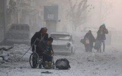 JT kaltina Siriją dėl cheminio ginklo, bet Damaskas turi užtarėją