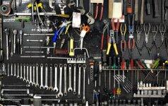 Pasiruošimas remontui (I dalis) - būtinų įrankių sąrašas