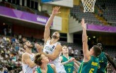 Lietuvos krepšinio rinktinė patyrė pirmą pralaimėjimą universiadoje – nusileista australams