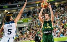 M. Kalnietis pretenduoja tapti ir geriausiu Europos krepšininku