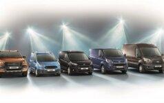 Ford komerciniai automobiliai