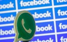 "EK nubaudė ""Facebook"" už apgaulę perkant ""WhatsApp"""