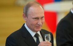 Ekspertas: neapykanta Rusijai – tik į naudą V. Putinui