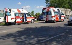 Per tragišką avariją Panevėžio rajone žuvo vaikas, netrukus mirė ir jo mama