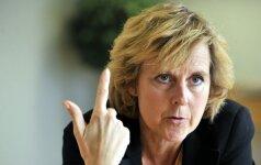 ES komisarė C. Hedegaard: Lietuva neturi pajėgumų pirmauti, bet gali sekti kitus