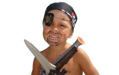 Piratiškam vaiko gimtadieniui: tortas - laivas video