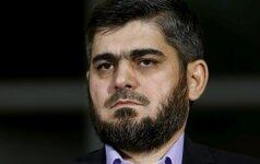 Iš Sirijos taikos derybų traukiasi opozicijos atstovas