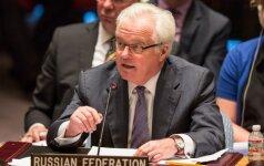Maskva ir Kijevas susikivirčijo dėl Rusijos ambasadoriaus pagerbimo