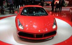 Ferrari 488 GTB (asociatyvi nuotr.)