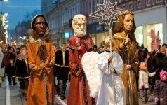 Per Lietuvą žygiuos Trys karaliai
