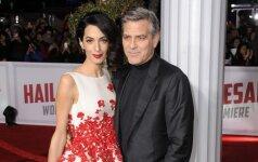 G. Clooney žmona laukiasi dvynių