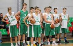 """Savaitgalį talentingiausi jaunieji krepšininkai dalyvavo """"Talentų U15 karta"""" atrankoje"""