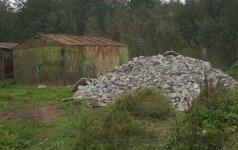 Vilniuje nustatyti teršėjai statybinėmis atliekomis