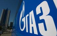 """""""Gazprom"""" žada užbaigti """"Turkijos srautą"""" iki 2019 m. pabaigos"""