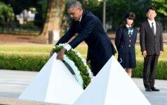 Apklausa: beveik pusė amerikiečių pritaria Hirošimos ir Nagasakio atominiam bombardavimui