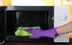 Kaip išvalyti mikrobangų krosnelę