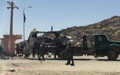 Afganistano sostinėje Kabule susisprogdino savižudis