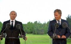 V. Putino ir S. Niinisto susitikimas