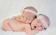 NEĮTIKĖTINA: ar šioms moterims užkoduota gimdyti tik dvynius?