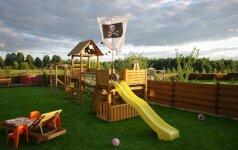 Darau pats: žaidimų aikštelė vaikams už 600 eurų