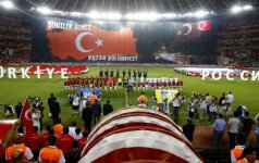 Turkai ir rusai – vėl draugai: rinktinės žaidė kontrolinį mačą