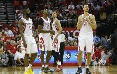Suoliukas ar aikštelė: kokio vaidmens NBA atkrintamosiose sulauks D. Motiejūnas?