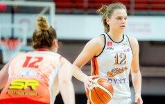 Naudingiausia LMKL žaidėja Juškaitė: mieliausi trofėjai būtų iškovoti su Lietuvos rinktine