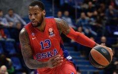 S. Weemsas palieka CSKA klubą ir tikisi sugrįžti į NBA
