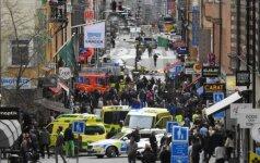 Švedija dėl išpuolio Stokholme sulaikė antrą įtariamąjį