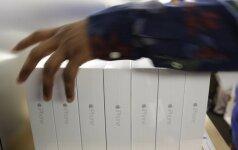 iPhone 6 ir iPhone 6 Plus debiutinis prekybos savaitgalis