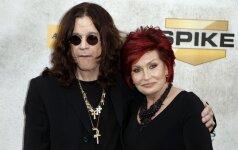 Ozzy ir Sharon Osbourne
