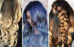 2017 m. plaukų dažymo tendencijos - nuo balayage'o, tigro akies iki denimo