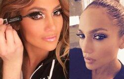 Ar pastebėjai Jennifer Lopez kaskart daromą makiažo gudrybę?