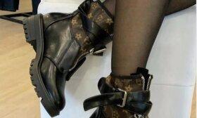 """Svetainės, kuriose atvirai prekiaujama tariamais """"Louis Vuitton"""" batais."""