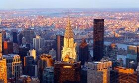 """""""Chrysler Building"""" laikomas vienu įspūdingiausiu art deco stiliaus statinių."""