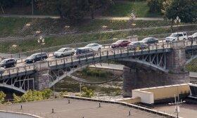 Tyrimas parodė: 99 proc. vilniečių transporto spūstis laiko svarbia Vilniaus problema