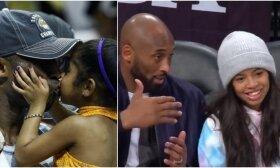 Drasko širdį: Bryanto dukra krepšinį mylėjo ne mažiau nei tėvas