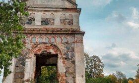 Rudaminos Viešpaties Atsivertimo cerkvės griuvėsiai