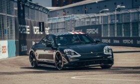 """Smūgis """"Porsche"""": ekonomijos bandymuose """"Taycan"""" pasirodė nepavydėtinai prastai"""
