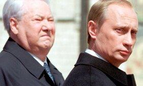 Putinas ir Jelcinas