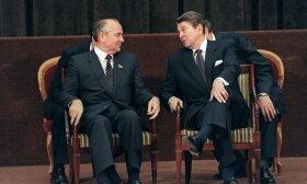 Michailas Gorbačiovas, Ronaldas Reaganas