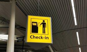 Oro uostas, registracija / Larissa Gies nuotr.